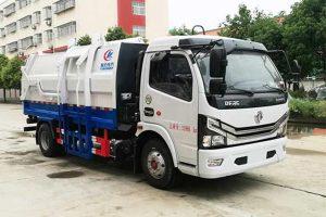 东风大多利卡国六自装卸式垃圾车