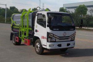 东风多利卡国六自装卸式垃圾车