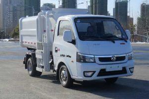 东风途逸微卡国六自装卸式垃圾车