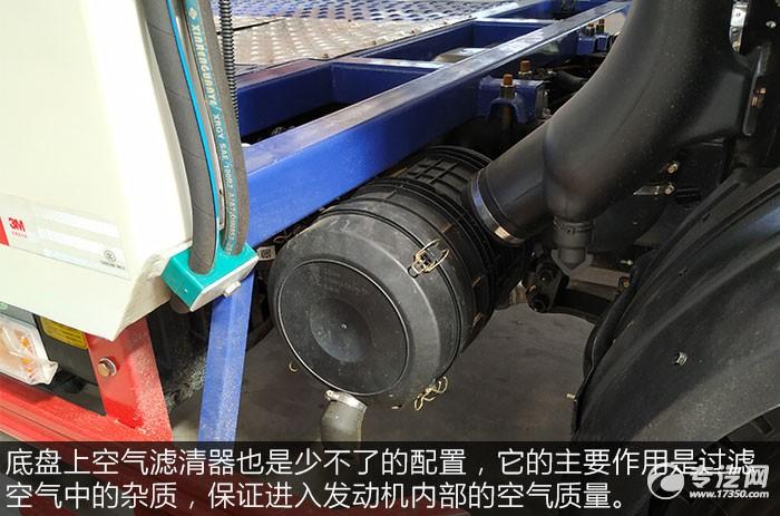 解放虎VN单桥双层清障车评测之空气滤清器