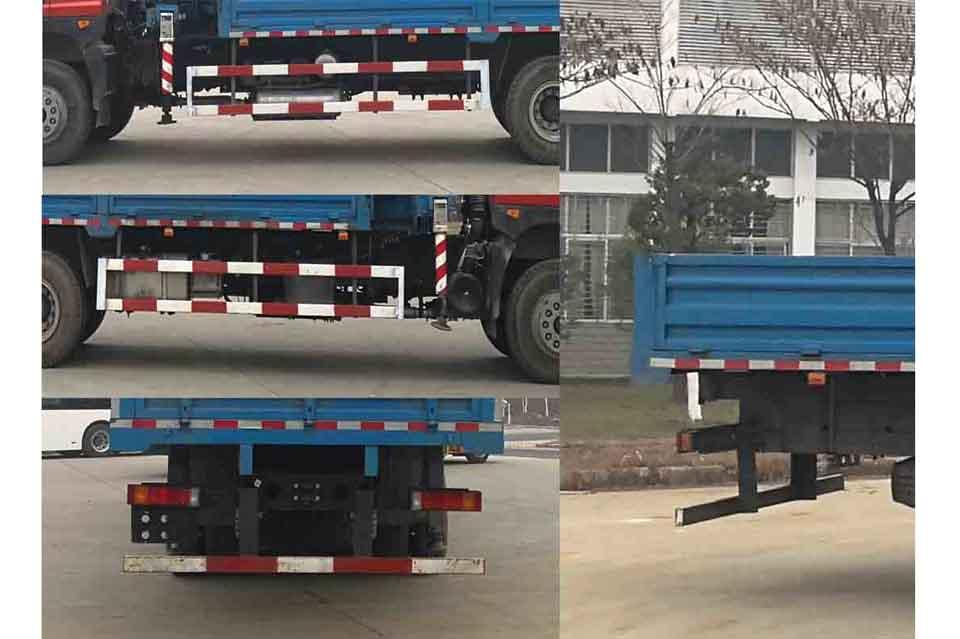 东风特商后双桥国六10吨直臂随车吊细节