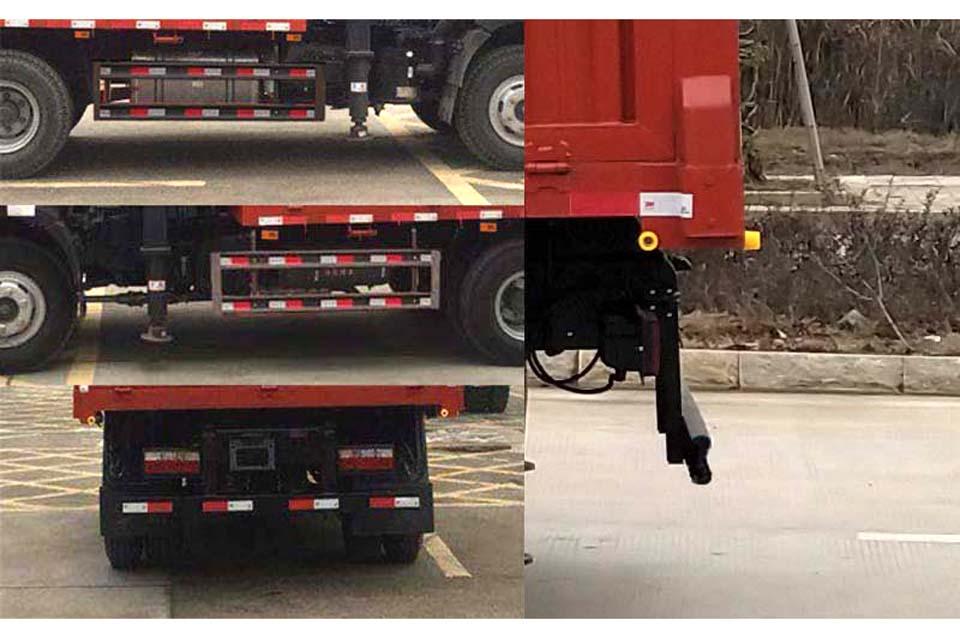 重汽王牌单桥国六4吨直臂随车吊细节