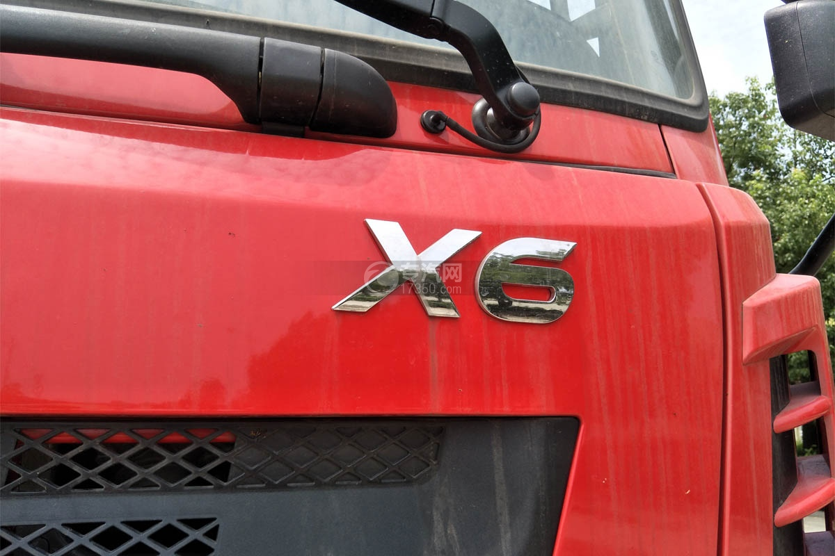 陕汽轩德X6单桥新飞工8吨直臂随车吊细节