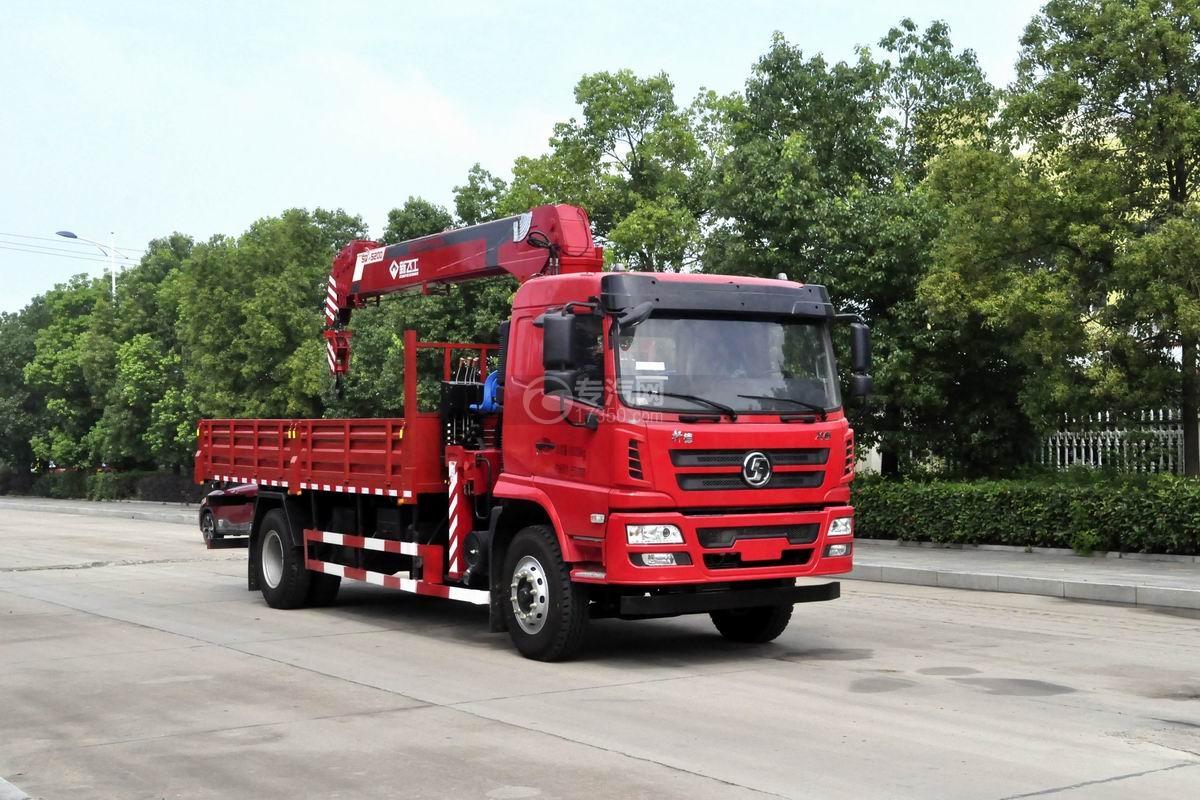 陕汽轩德X6单桥新飞工8吨直臂随车吊