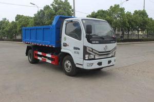 東風多利卡國六4方自卸式垃圾車