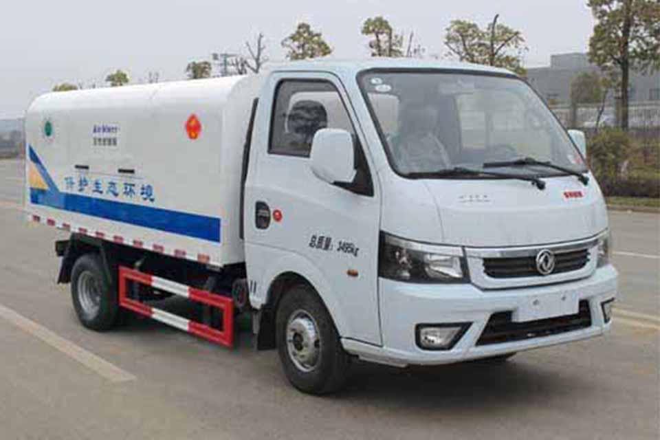 东风途逸微卡国六自卸式垃圾车