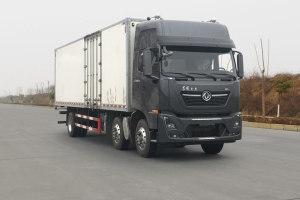 東風天龍小三軸國六9.6米廂式運輸車
