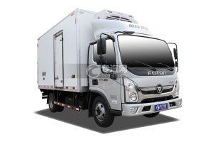 福田奥铃速运蓝牌4.1米冷藏车