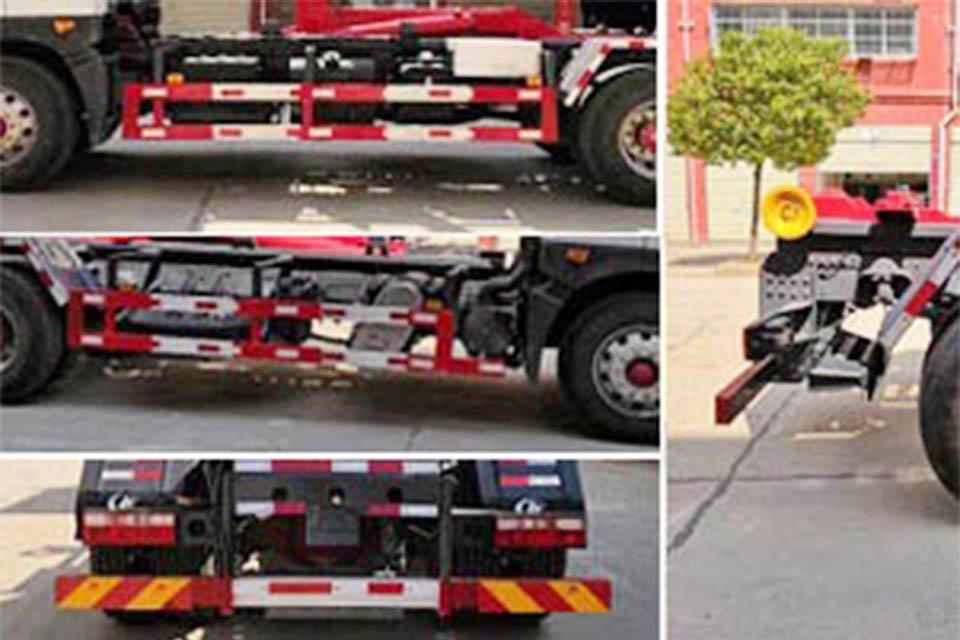 东风多利卡D12国六勾臂式垃圾车细节
