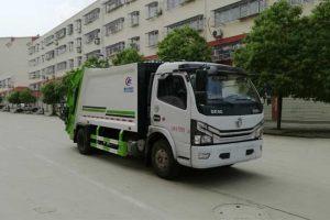 东风多利卡国六压缩式垃圾车