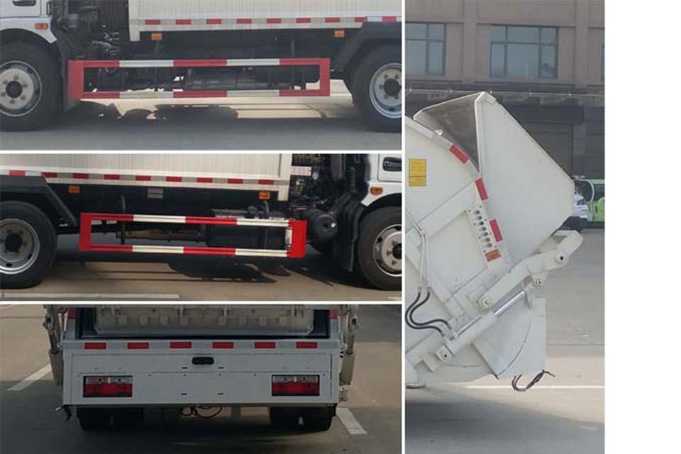 东风大多利卡国六压缩式垃圾车细节
