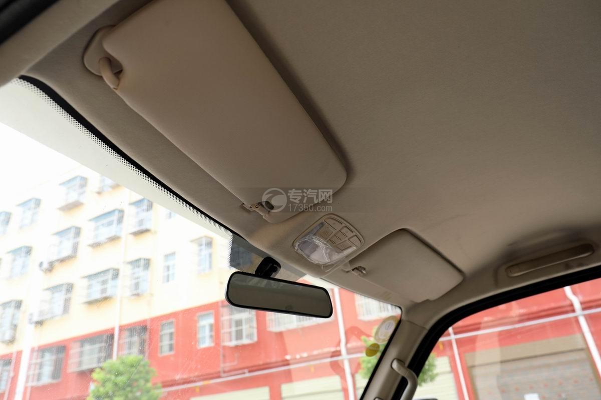 飛碟締途單橋LED廣告宣傳車遮陽板
