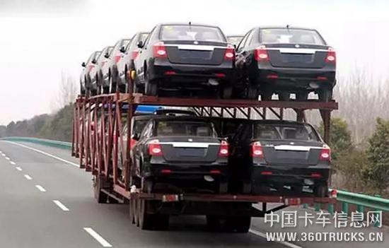 最高罚3万、割车、进入黑名单……轿运车违规装载末日到来!