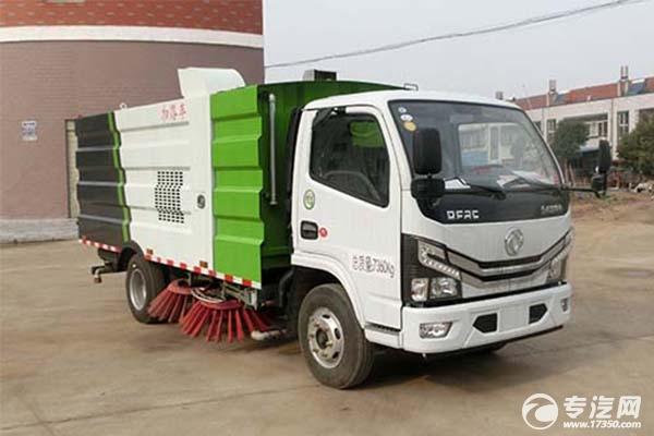 东风多利卡国六5吨扫路车
