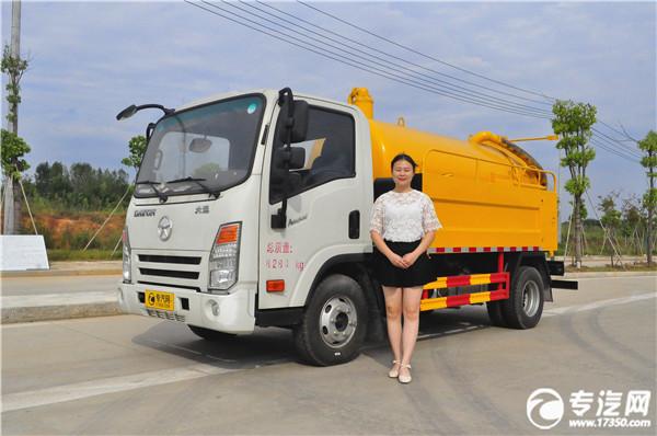 清洗吸污车漏油常见原因是什么?