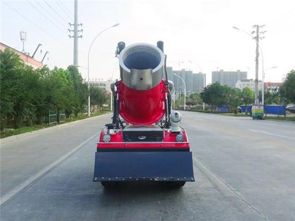 消防機器人 車前圖