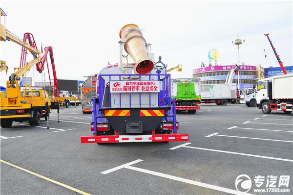 东风D9雾炮洒水车车尾图