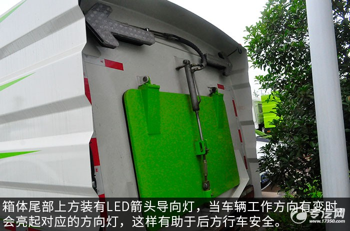 东风多利卡D7扫路车评测