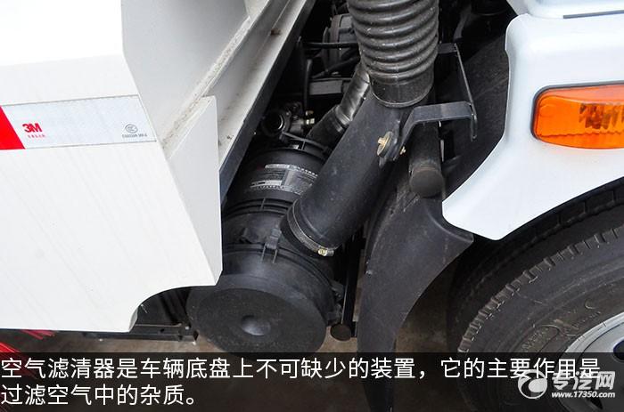 东风大多利卡D7扫路车评测