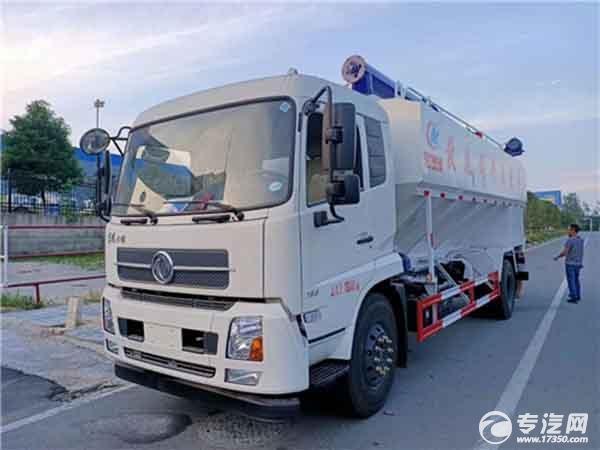 22方散装饲料运输车给您运输安全、快捷的养殖饲料