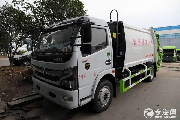 新品国六 6方东风凯普特K7国六压缩式垃圾车已量产