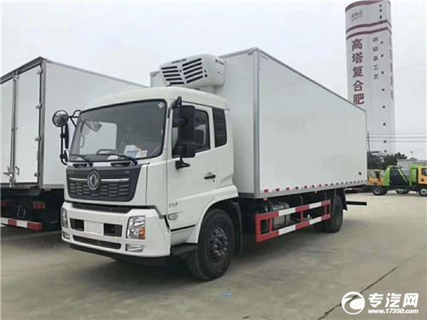 新款 东风天锦国六7.8米冷藏车图片集