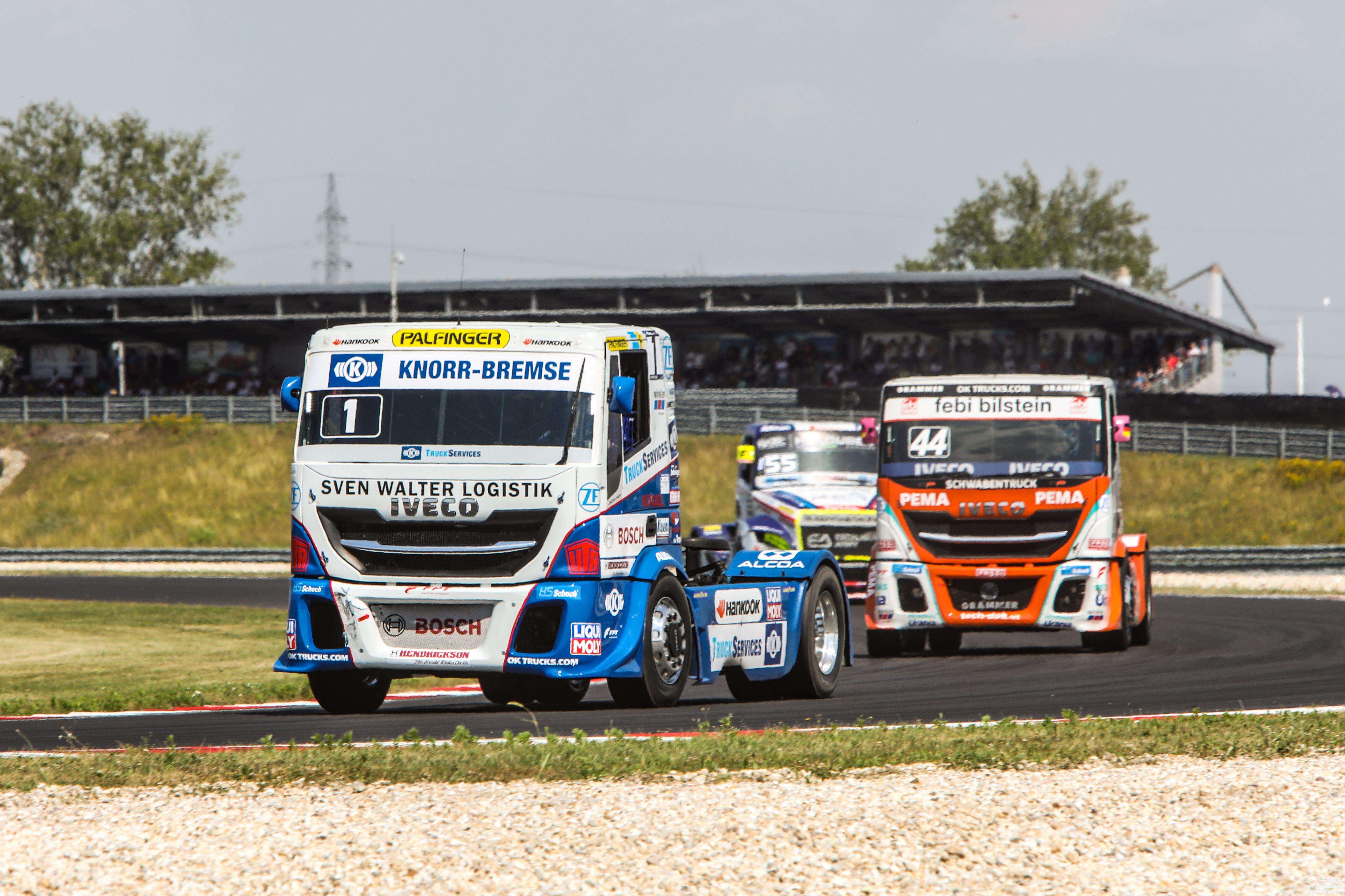 车队、车手双料冠军!依维柯在2019 FIA欧洲卡车锦标赛上大放光彩