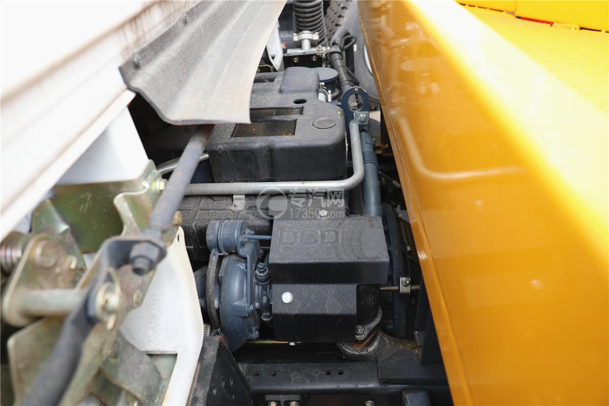 東風小多利卡國六16米伸縮臂式高空作業車發動機圖