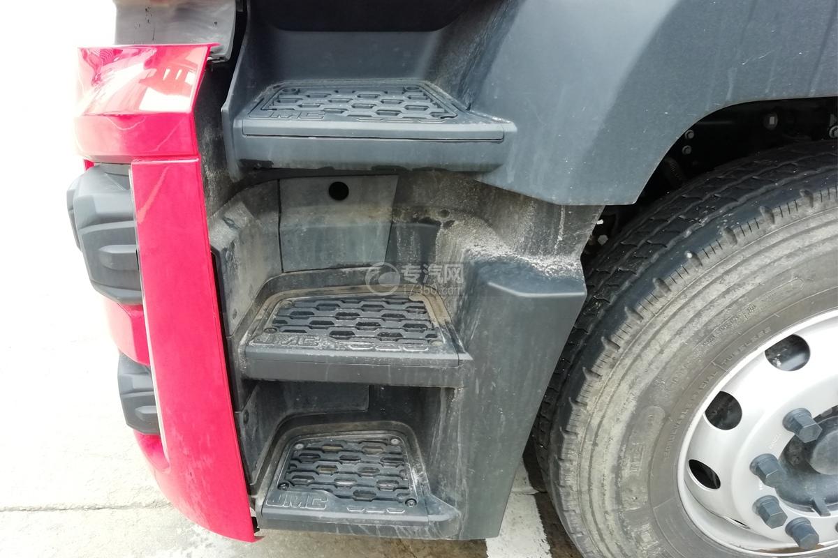 江铃威龙前四后八32方粉粒物料运输车驾驶室上下踏板