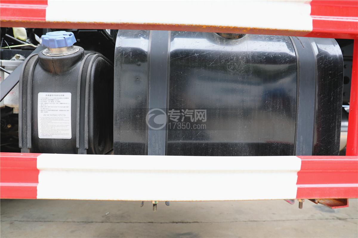 东风专底D3国六12方洒水车油箱图
