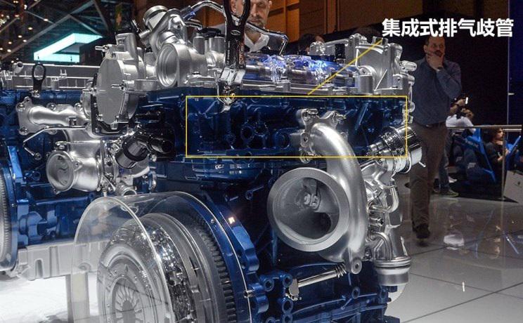 """?看長安福特1.5T發動機""""可變缸技術""""最強三缸"""