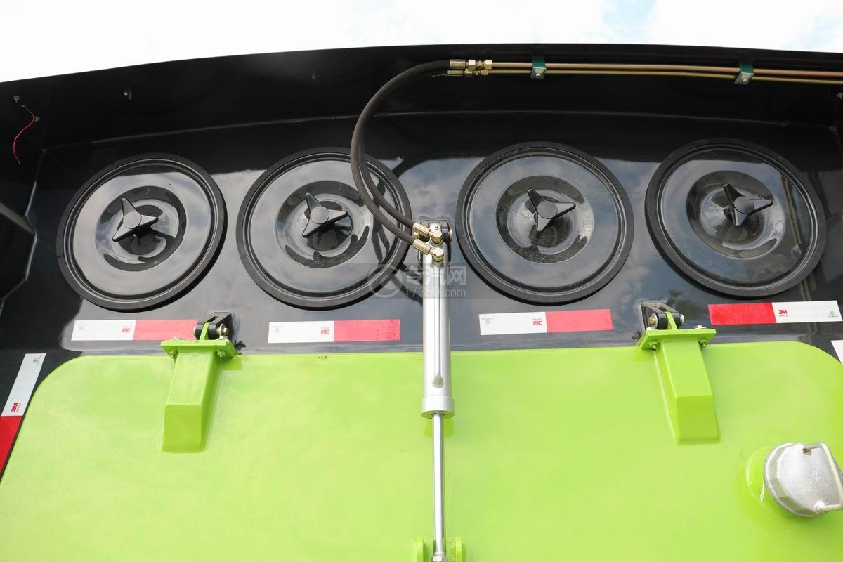 大运奥普力国六吸尘车过滤系统
