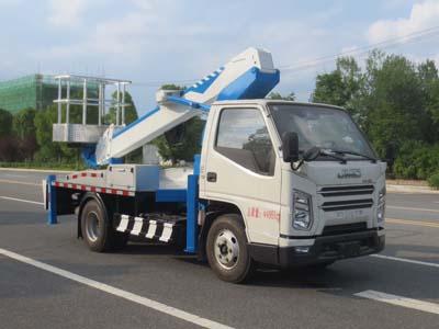 新品問世 江鈴凱銳國六16米伸縮臂高空作業車