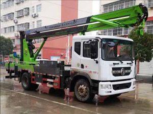 东风多利卡d9国六20米折叠臂式高空作业车