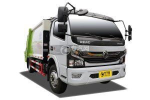 东风凯普特K7国六8方压缩式垃圾车