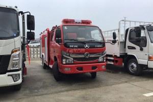 东风凯普特K6国六双排泡沫消防车图片