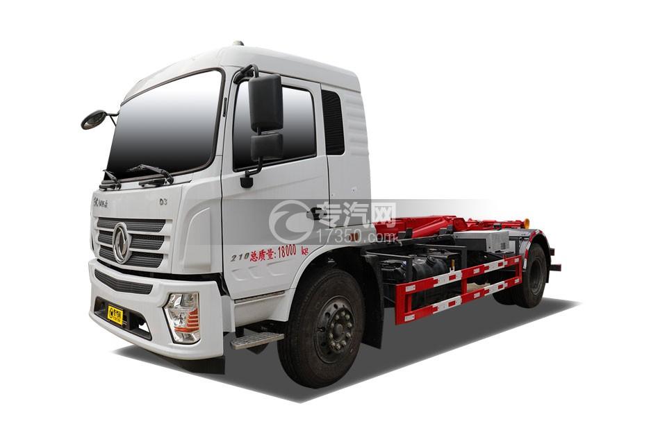 东风专底D3国六车厢可卸式垃圾车