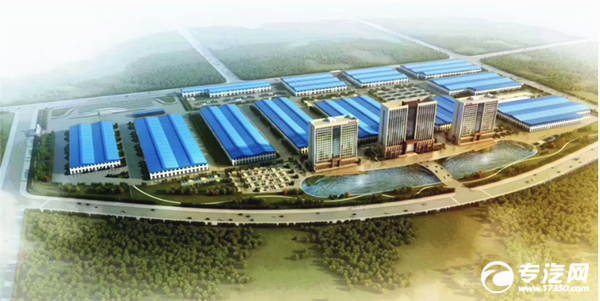 花园式的程力新厂区已投入生产