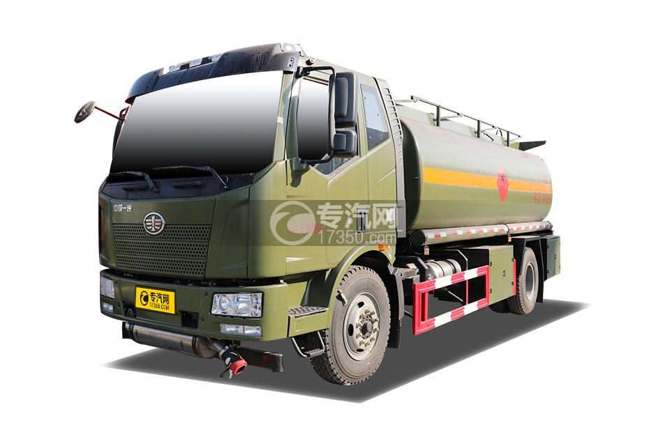 解放J6L单桥14.7方军用加油车