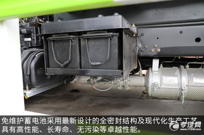 东风凯普特K7国六压缩式垃圾车评测蓄电池