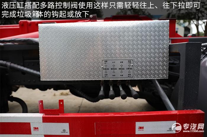 東風專底D3國六車廂可卸式垃圾車多路控制閥