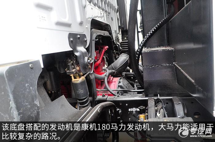 东风多利卡D9压缩式垃圾车发动机