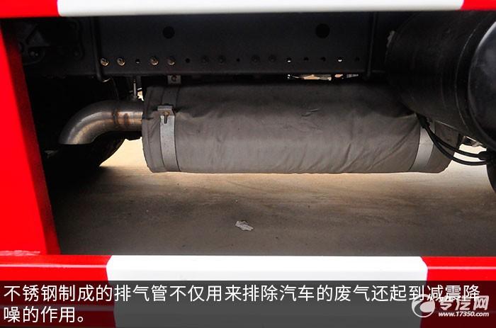 东风多利卡D9压缩式垃圾车排气管