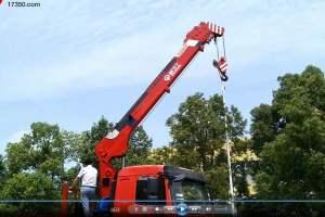 看陜汽8噸直臂隨車吊如何操作!