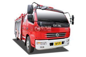 东风多利卡双排2.6方水罐消防车