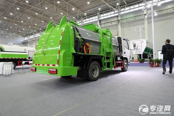 东风多利卡国六餐厨式垃圾车