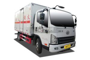 解放虎V国六易燃气体厢式运输车