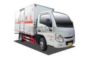 躍進小福星s70國六雜項危險物品廂式運輸車