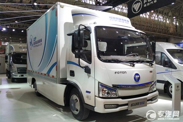 未来物流车的发展方向——纯电动厢式货车