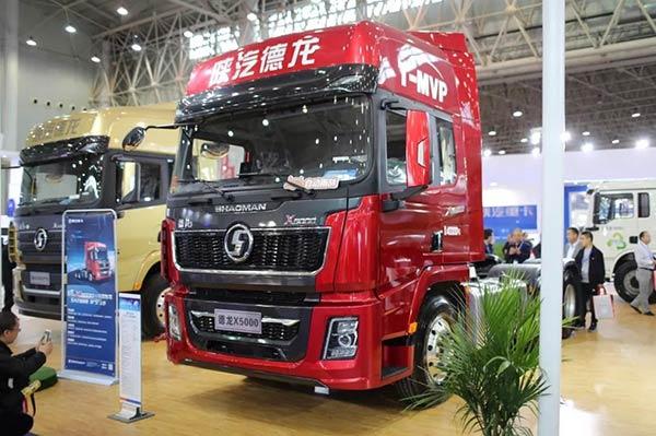 陕汽重卡亮相2019中国国际商用车展览会